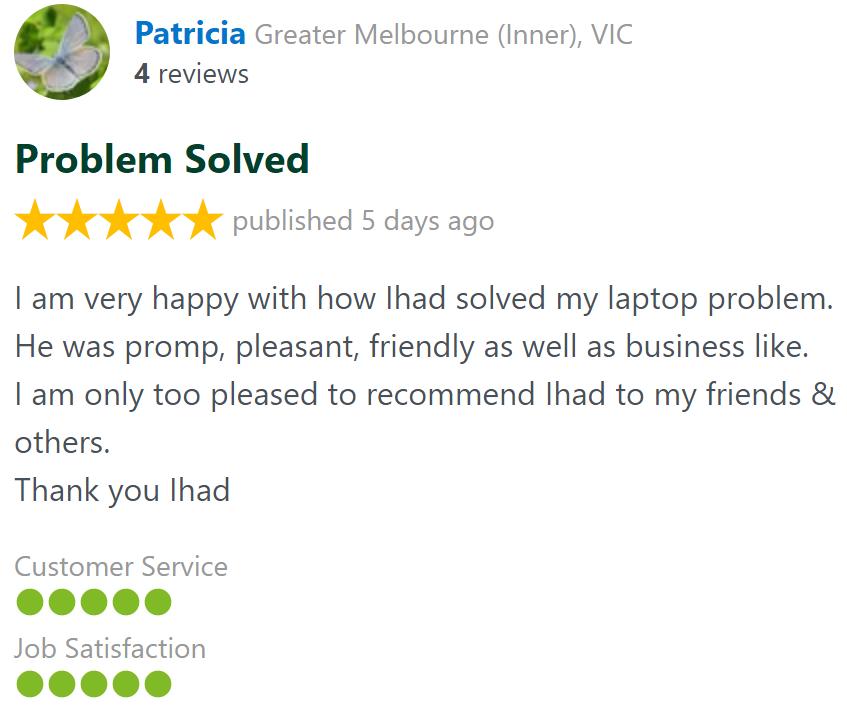 patricia computer and laptop repair review