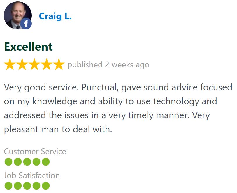 craig technician services review